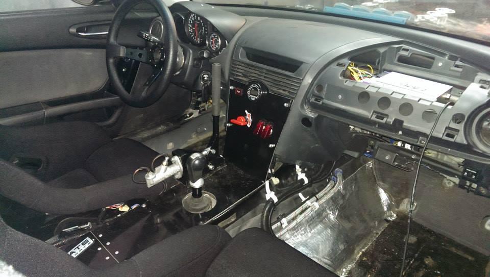Mazda RX-8 with a Toyota 3UZ-FE V8