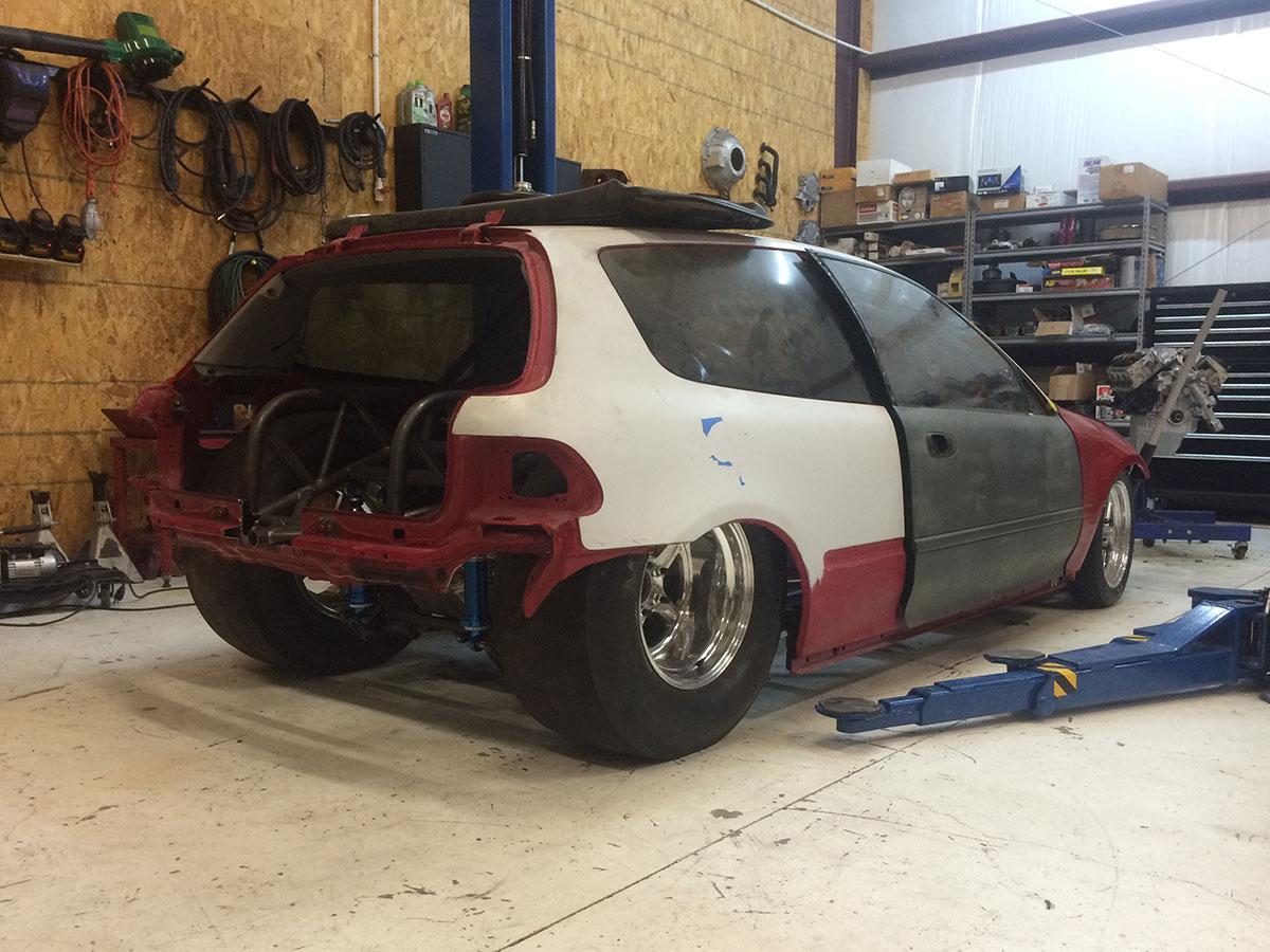 Turbo V8 Powered Honda Civic Update – Engine Swap Depot