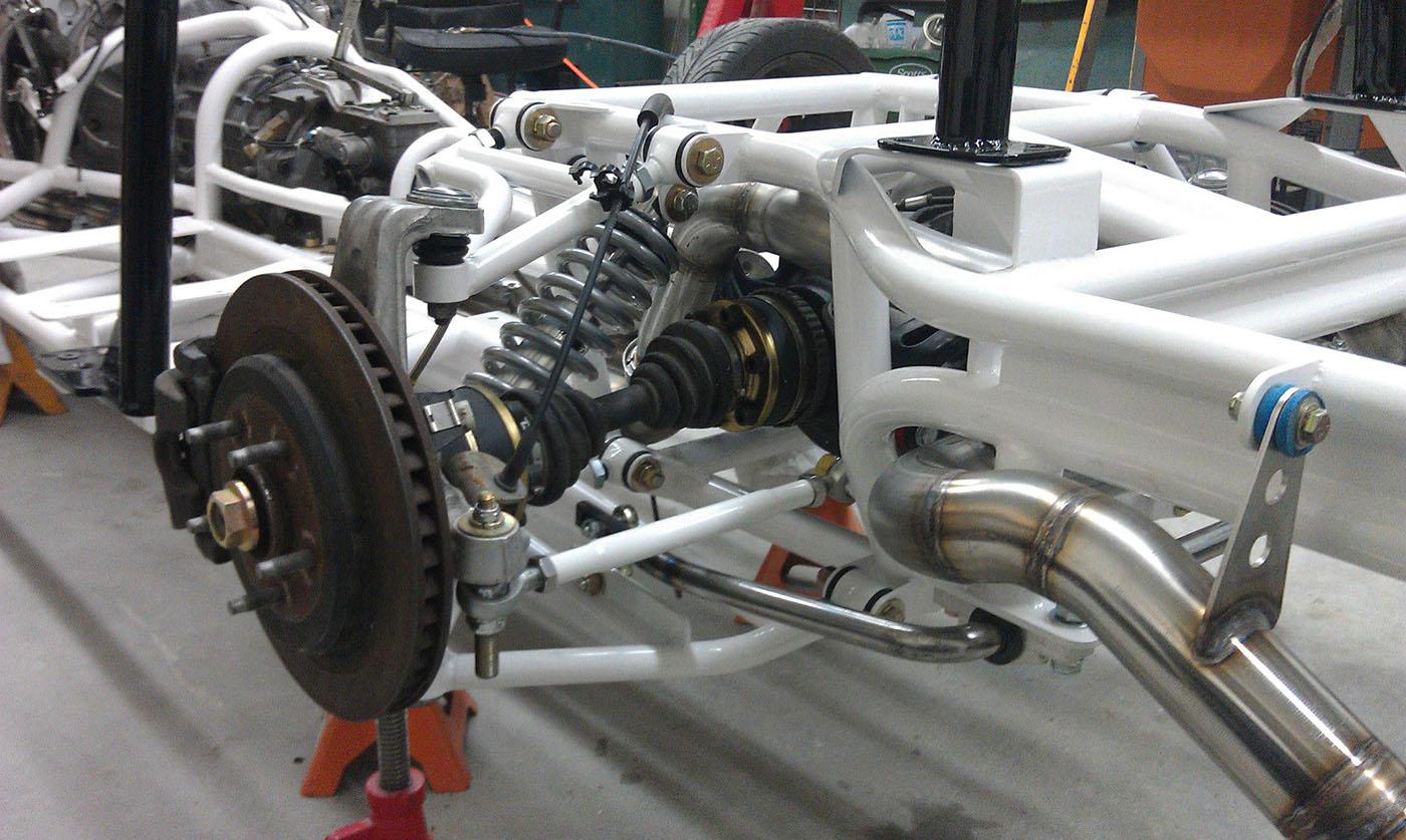 Triumph Tr250 With A Ls2 V8 Engine Swap Depot