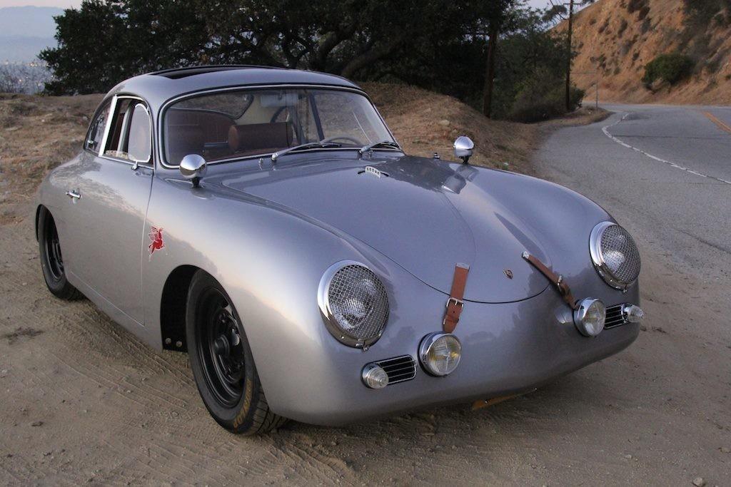 Two Amazing Porsche 356 Outlaws Visit Jay Leno S Garage Engine Swap Depot