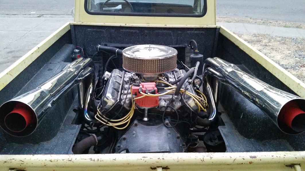 Mazda Truck with a Oldsmobile 455 in the Bed – Engine Swap ...