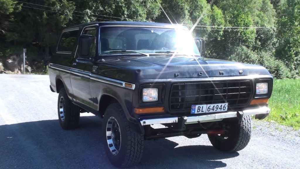 1979 Ford Bronco with a 460 ci Big-block V8