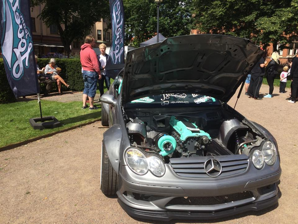 2003 Mercedes CLK with a M104.941 AMG engine