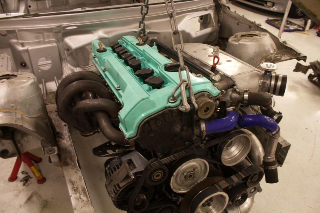 2003 Mercedes CLK with a M104.941 AMG engine