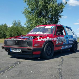 AWD Volkswagen Golf Mk2 with 1,010 HP VR6