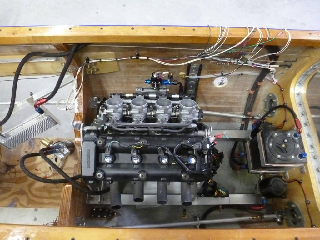Bugatti 100P Replica Powered by Two Hayabusa Engines