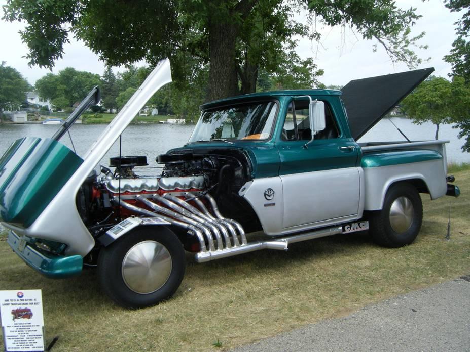 Custom 1964 GMC Truck Rap'em Pappy with a GMC 702 ci Twin Six V12