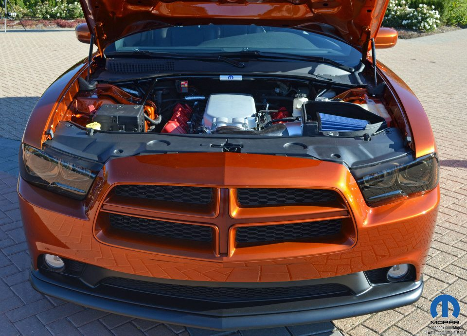 Dodge Charger with a Viper V10 – Engine Swap Depot
