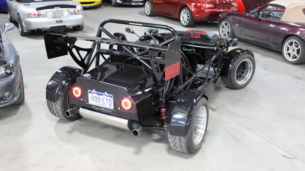 Flyin Miata Exocet with a Supercharged LSA V8