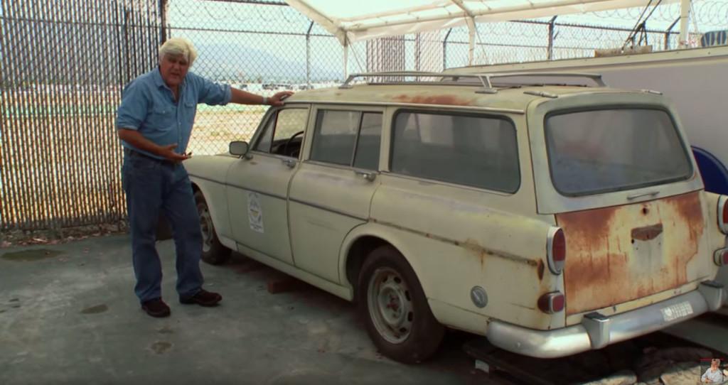 Jay Leno 1966 Volvo 122S with Polestar DOHC V8