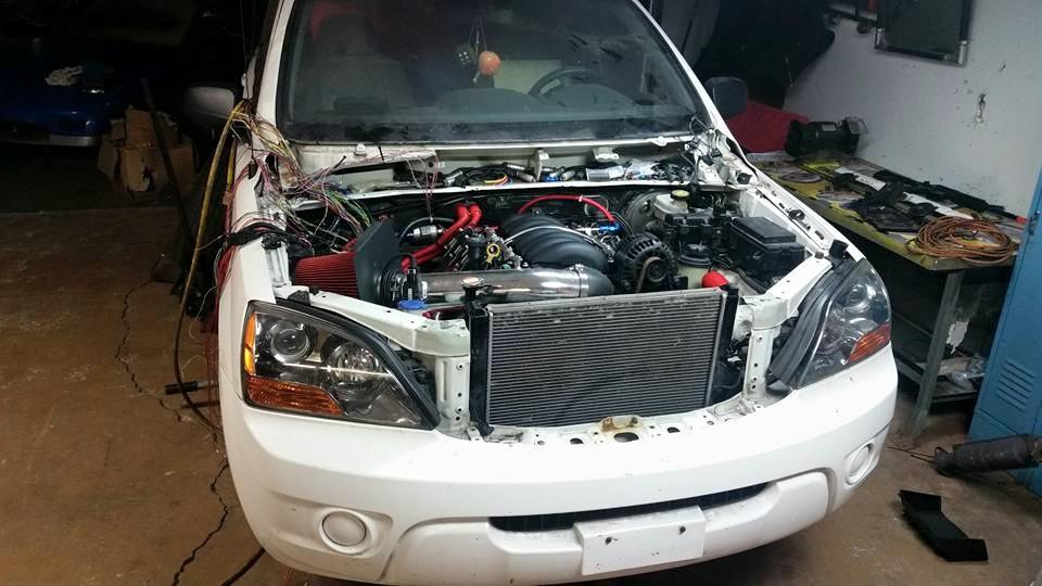 2007 Kia Sorento with a LSx – Engine Swap Depot