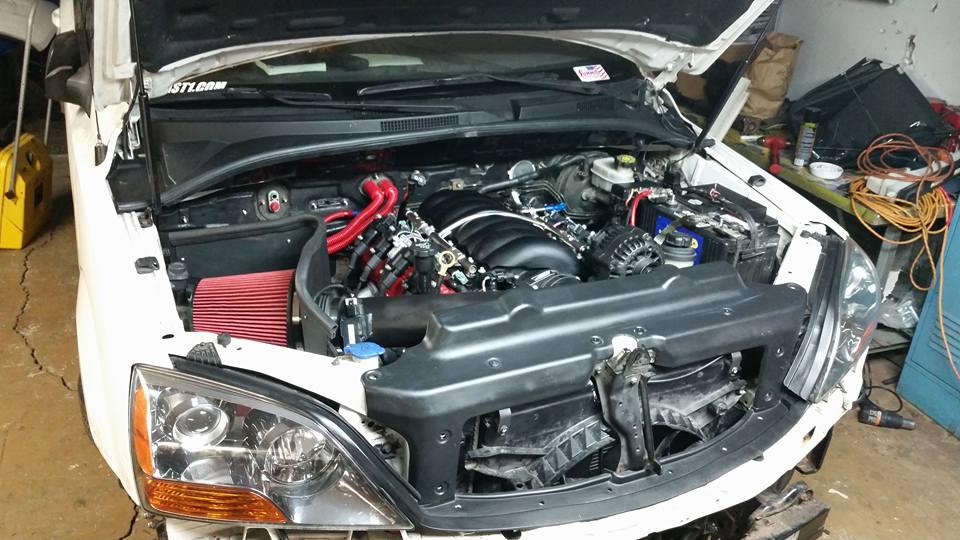 2007 Kia Sorento with 6.0 L LY6 V8