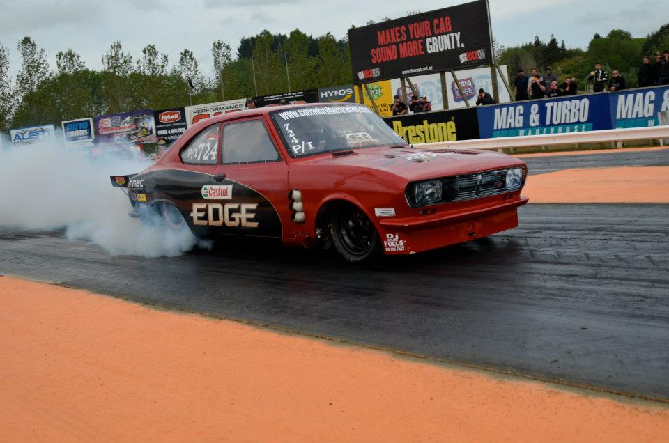 Curran Brothers Racing Mazda RX-2