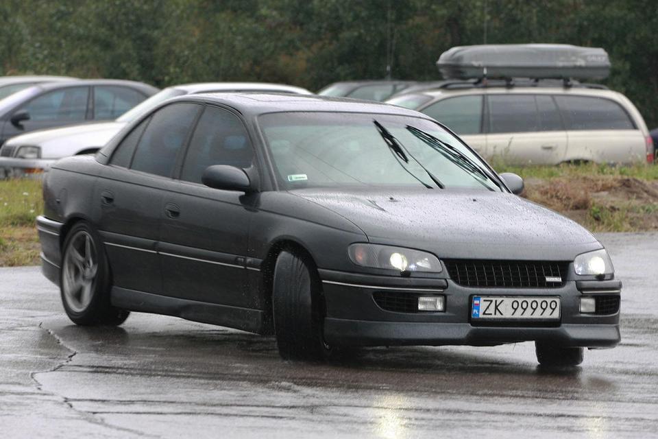 Opel Omega with a Saab B234
