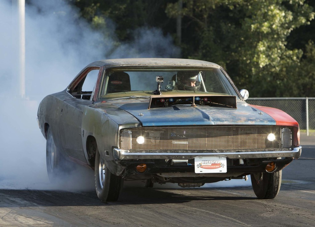 Roadkill General Mayhem 1968 Charger with a 6.2 L supercharged Hellcat V8
