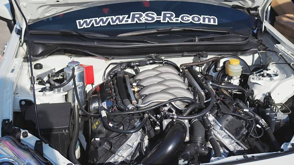 Scion FRS with a Ford Coyote V8 ndash Engine Swap Depot