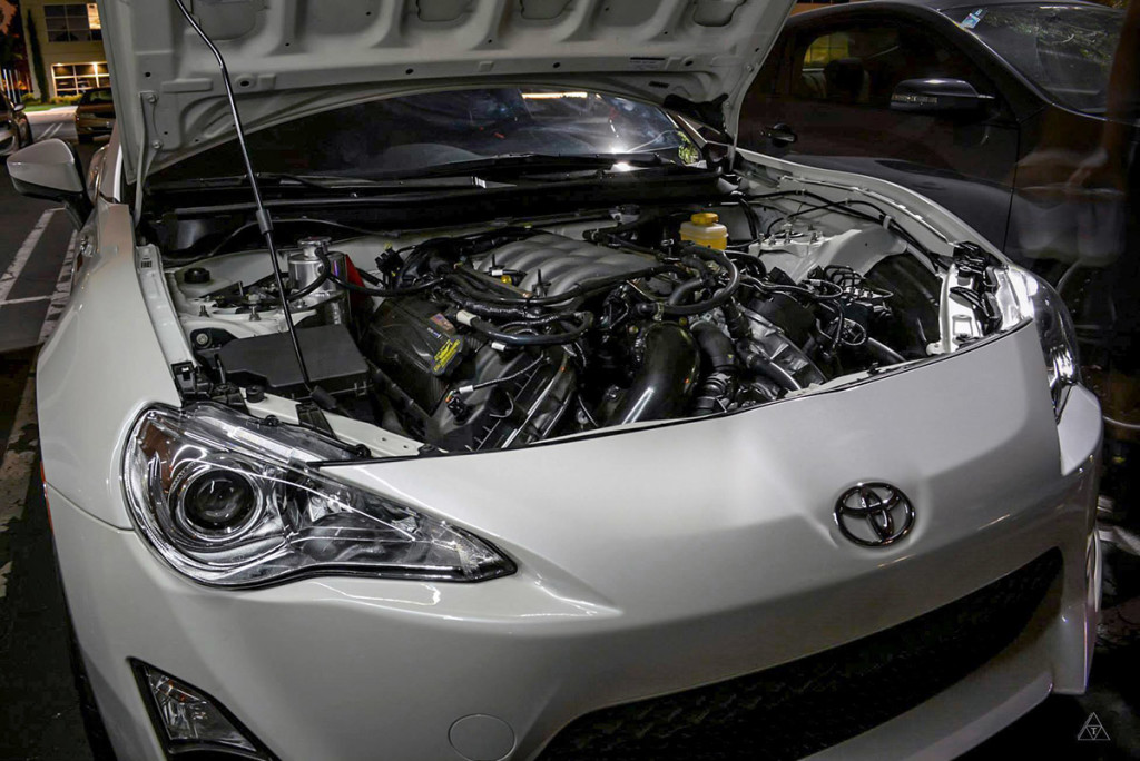 RS-R Scion FRS with Ford Coyote 5.0 L Boss 302 V8