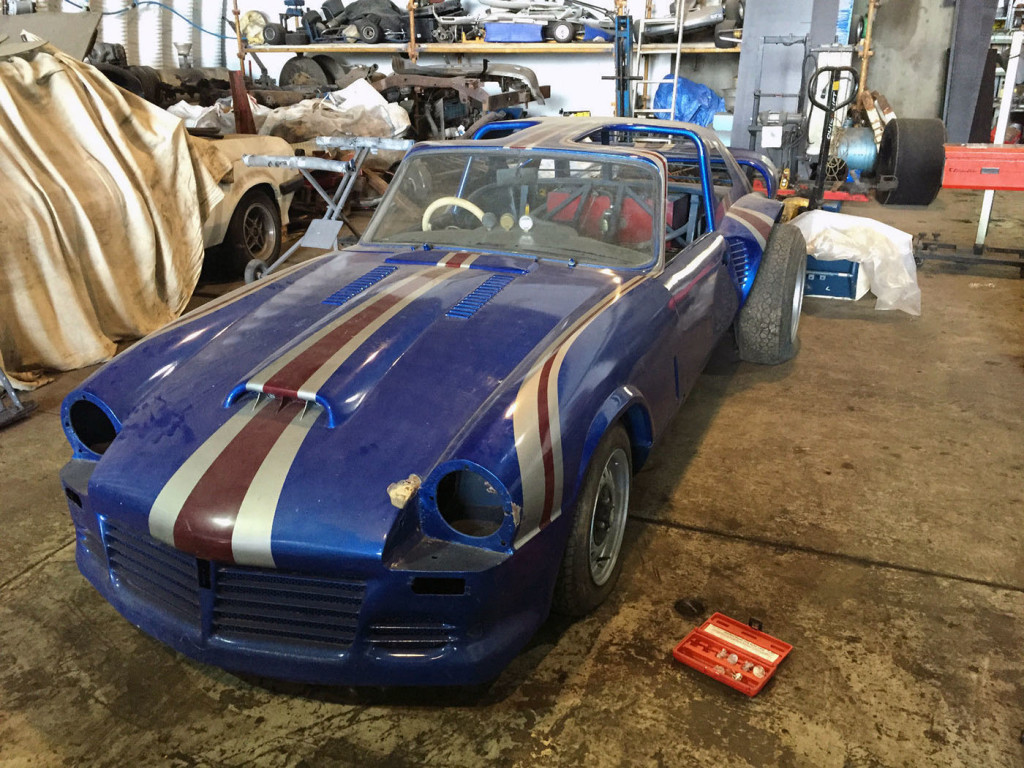For Sale: Triumph Spitfire with a Twin-supercharged Jaguar