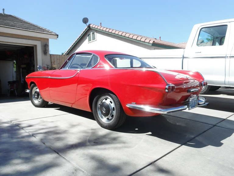 1963 Volvo 1800 with a GM Ecotec I4