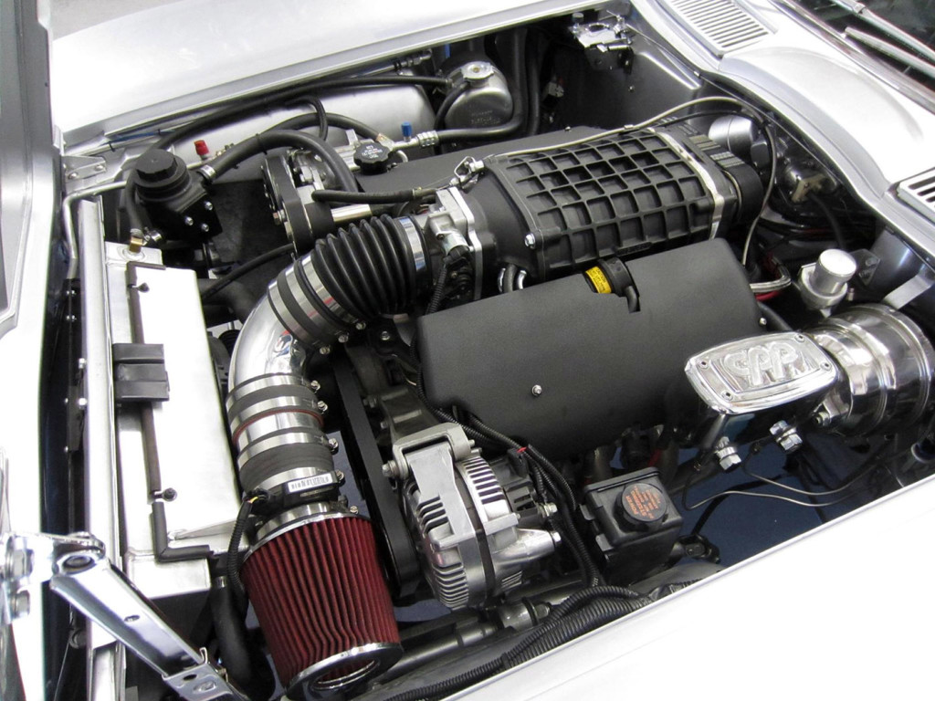 Corvette Stingray With A Supercharged Ls X on Ls1 Performance Engine