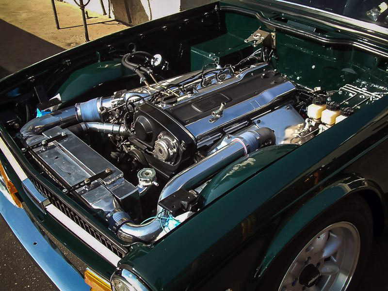 1969 Triumph TR6 with a RB25 – Engine Swap Depot
