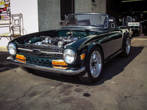 1969 Triumph TR6 with a RB25