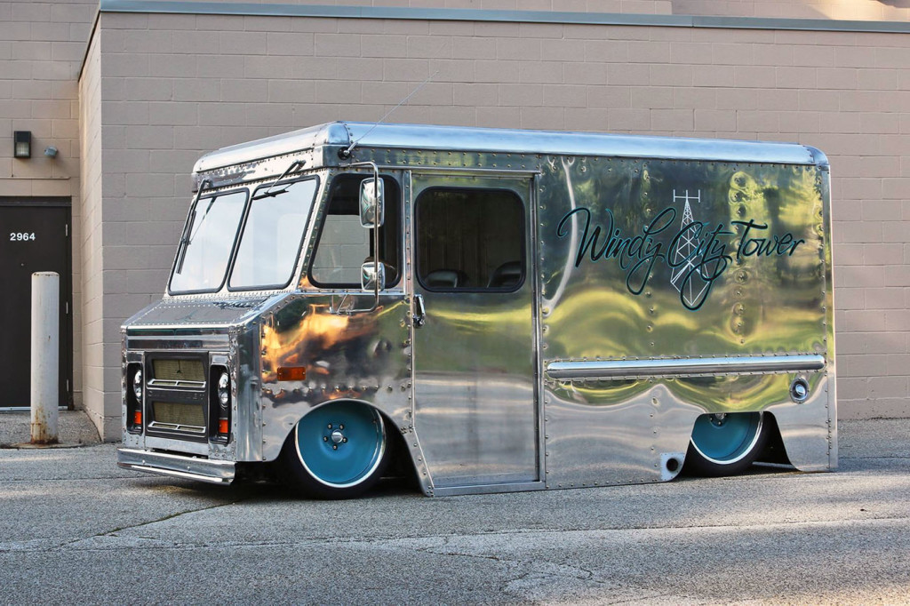 1970 Chevy P10 Step Van with a LSx V8