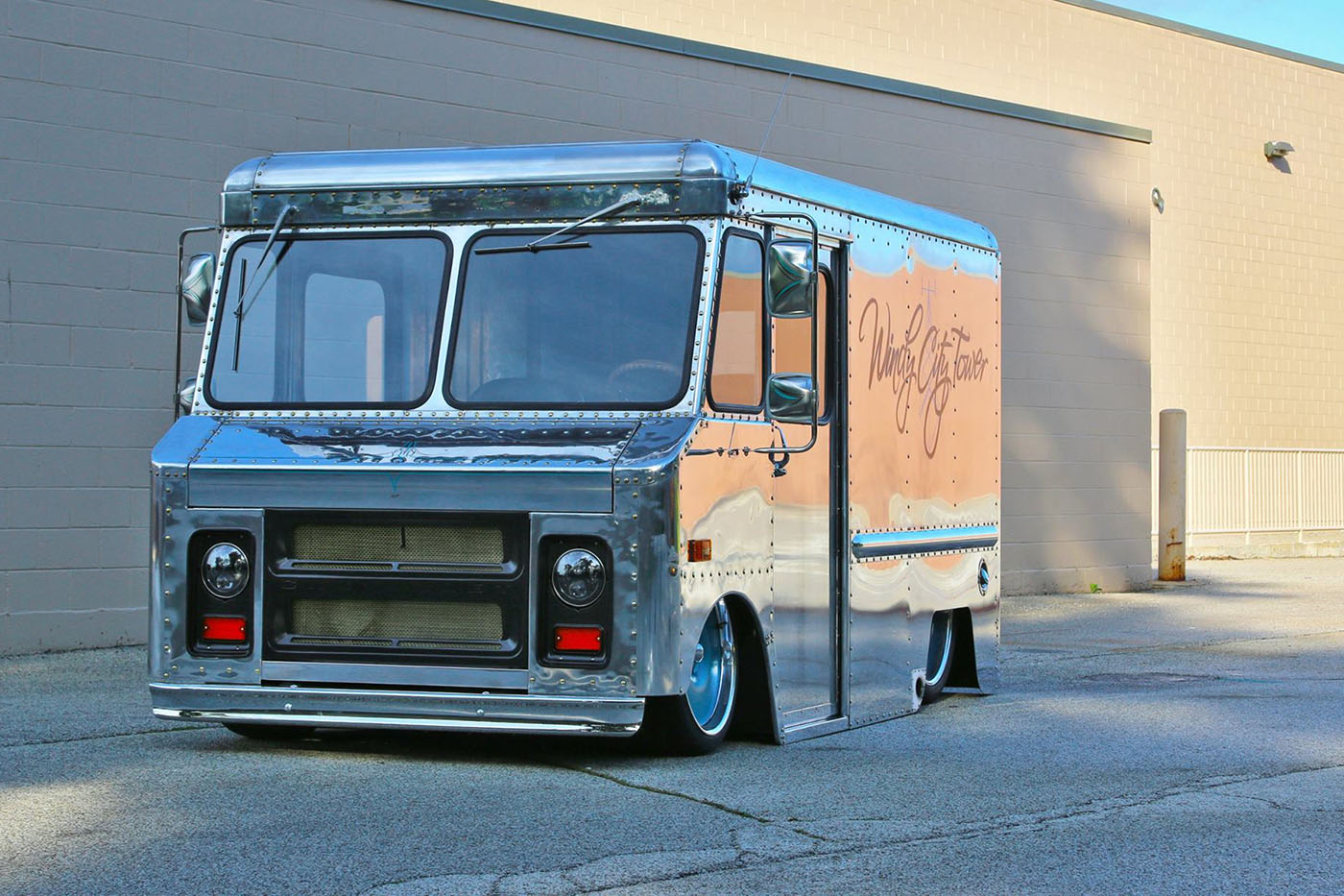 1970 chevy p10 van with a lsx engine swap depot. Black Bedroom Furniture Sets. Home Design Ideas