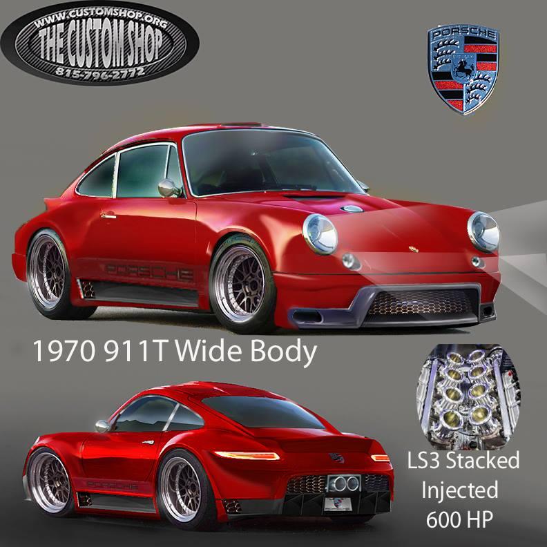Building A Porsche 911 With A Ls3 For Sema 2015 Engine