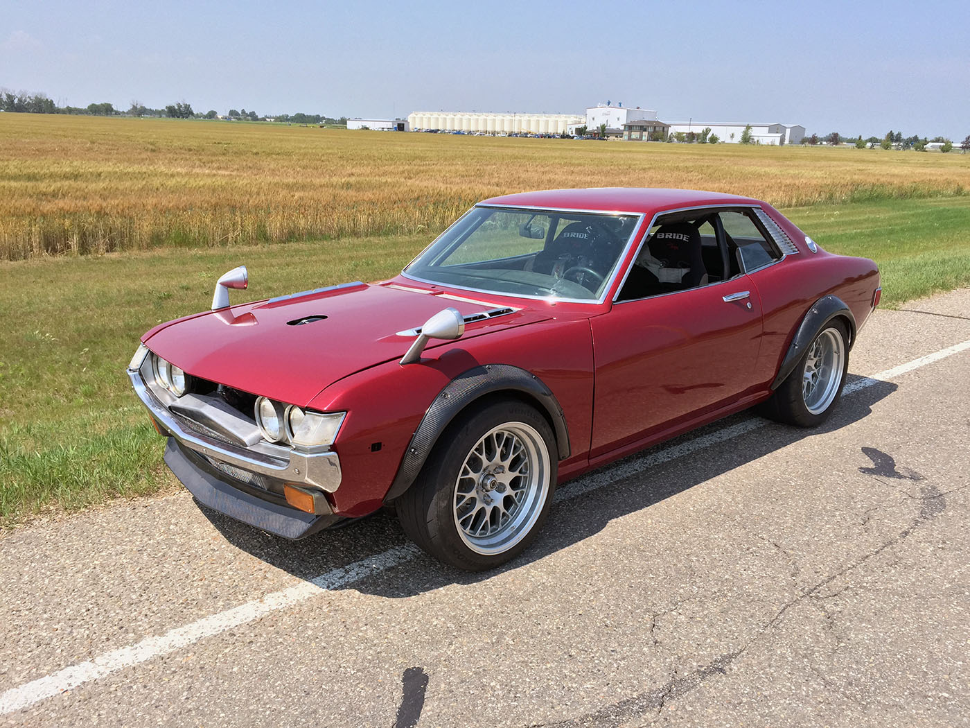 1973 Toyota Celica with a Twin-turbo 1UZ-FE – Engine Swap Depot
