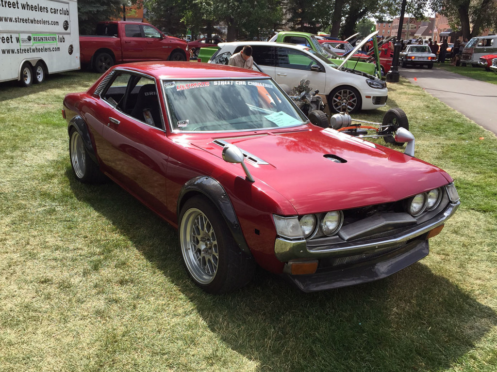 1973 Toyota Celica with a Twin-turbo 1UZ-FE