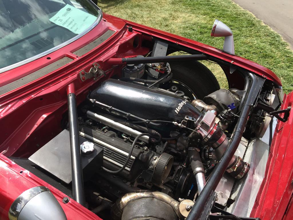 1973 Toyota Celica with a Twin-turbo 1UZ-FE