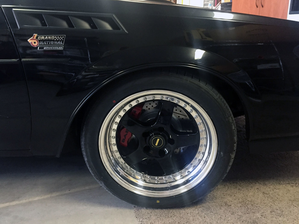 1986 Buick Grand National with supercharged and twin-turbocharged LSA V8