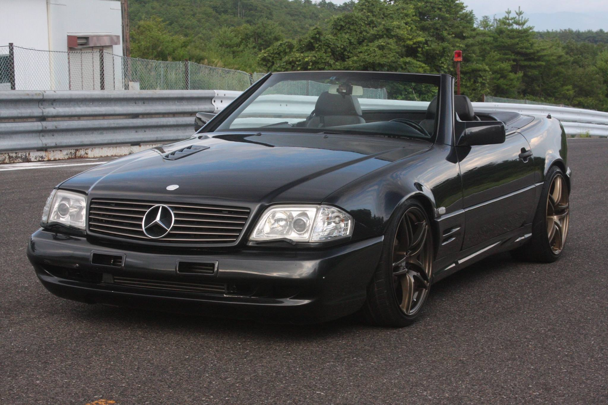 1991 Mercedes 500SL with a 2JZ GTE 01 1991 mercedes 500sl with a 2jz gte engine swap depot  at creativeand.co