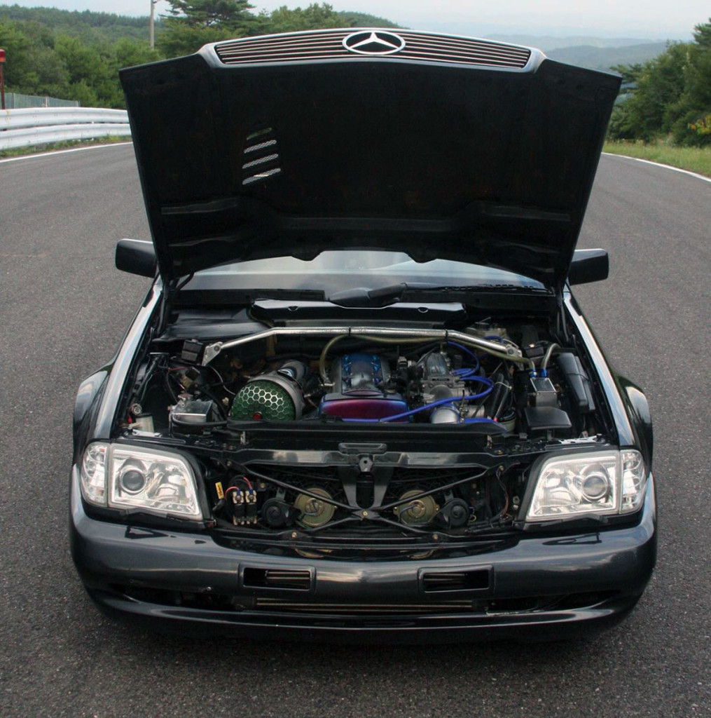 1991 Mercedes 500SL with a 2JZ-GTE