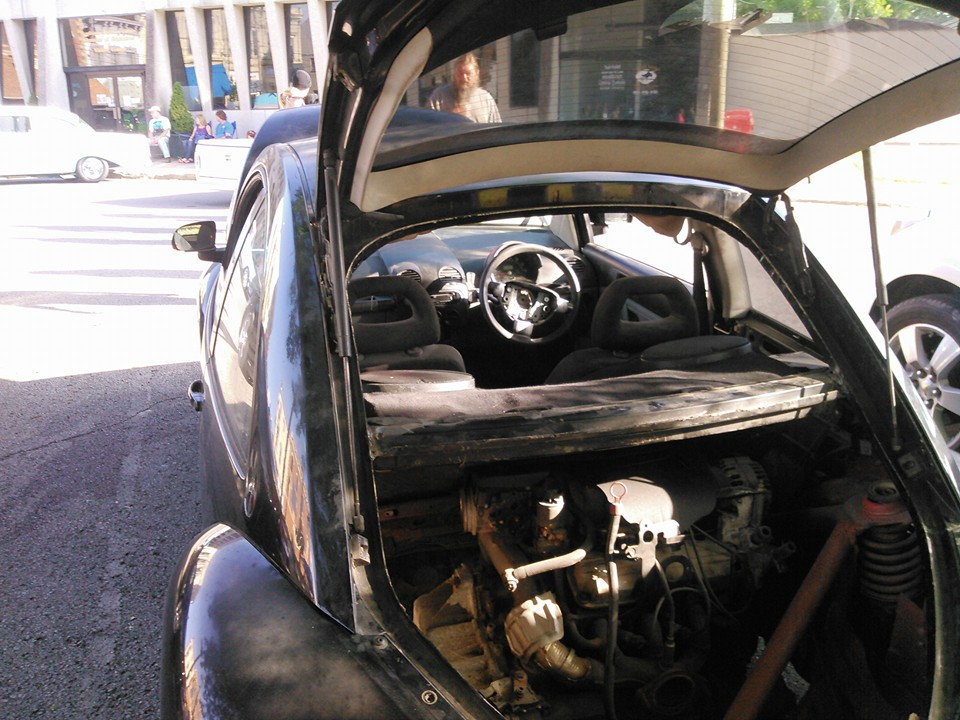 1998 Beetle with Twin Pontiac Supercharged 3.8 L V6 Engines