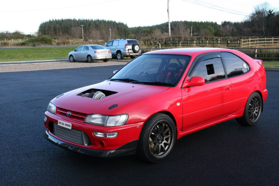 AWD Toyota Corolla with a 900 HP 3S-GTE