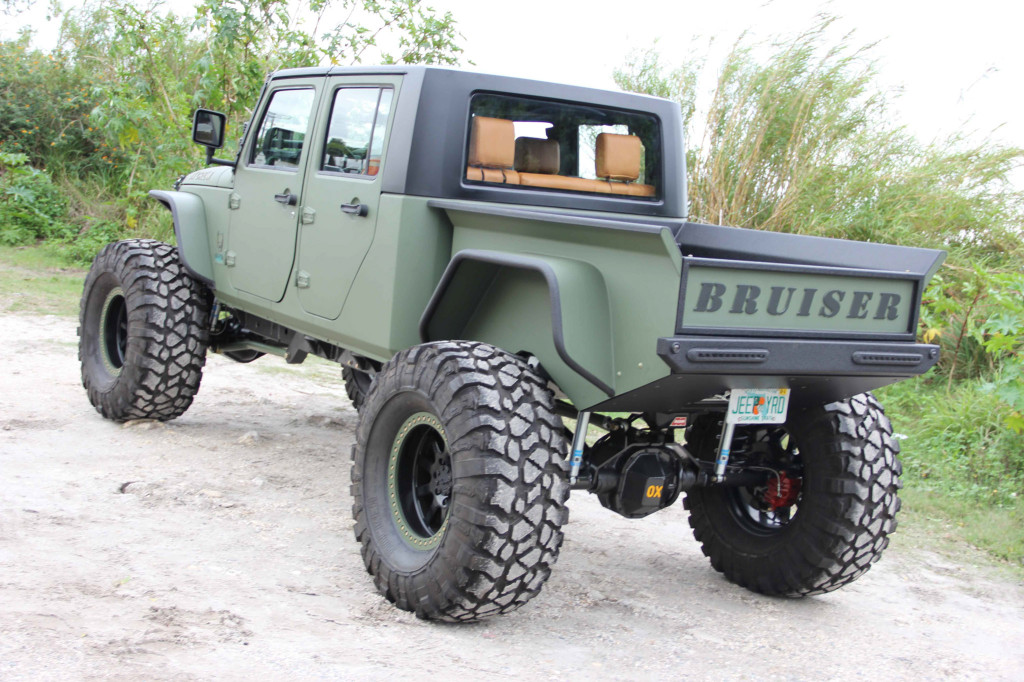 Custom 2007 Jeep Wrangler With A Cummins Turbo Diesel