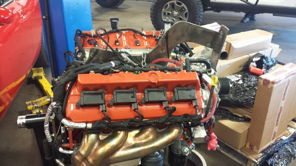 Dakota Customs' Jeep Wrangler with a Hellcat V8