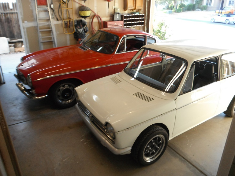 Dan Williams Honda N600 and Volvo 1800