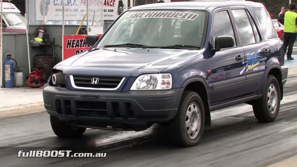 Honda CR-V with a Integra Type R B18C7 Engine