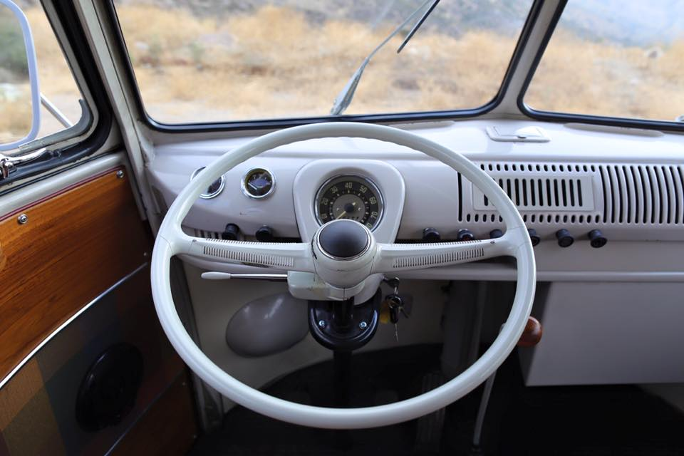 ICON 1967 VW Bus with a Jetta Engine