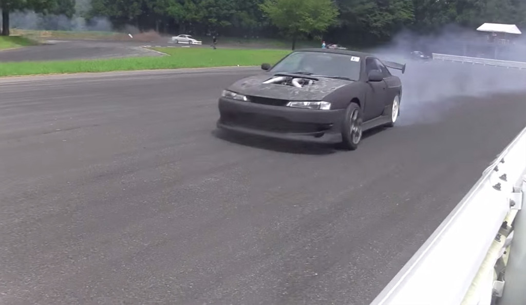 Nissan Silvia S14 with Toyota 1GZ-FE