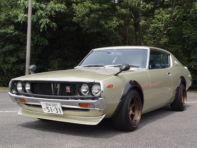 Rocky Auto 1973 Skyline with Toyota 1UZ-FE V8