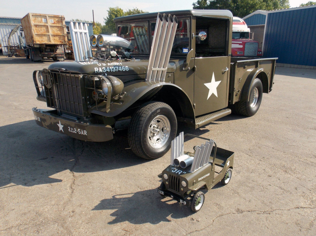 For Sale: 1962 Dodge M37 Power Wagon with a Supercharged HEMI