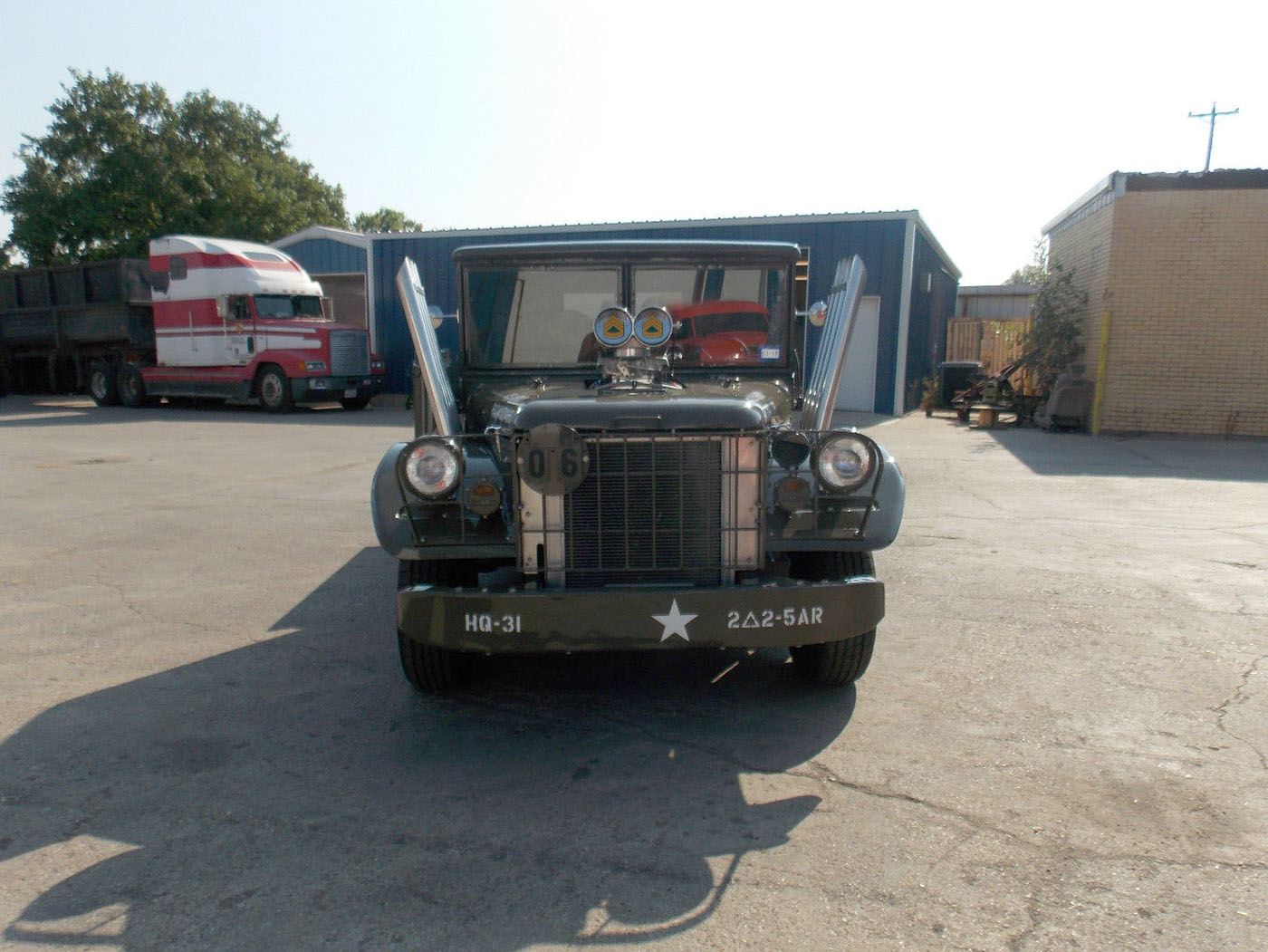 1962 Dodge M37 with a Supercharged HEMI V8 08 – Engine Swap Depot
