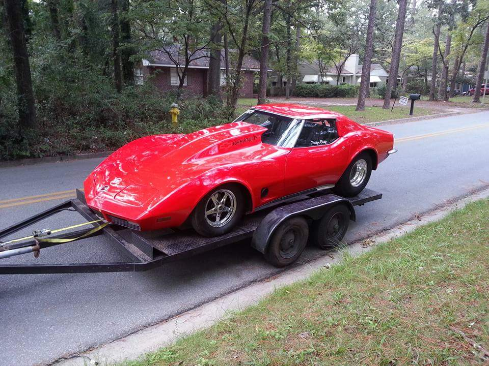 1973 Corvette with a 2JZ