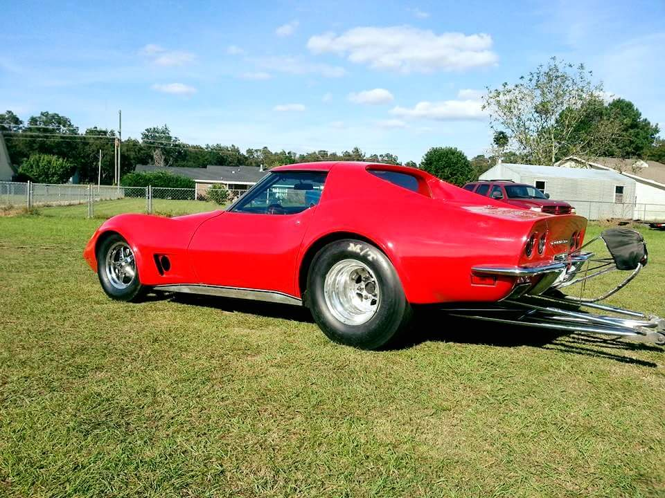 1973 Corvette with a 2JZ
