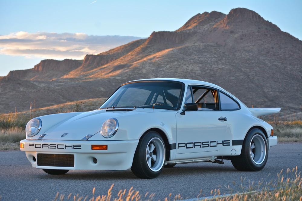 1974 Porsche 911 IROC clone with 964 3.8 L flat-six