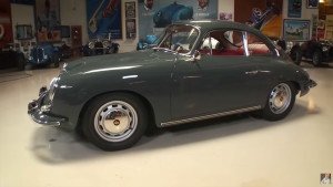 Anand Rajani's Porsche 356C with a 2.1 L engine at Jay Leno's Garage